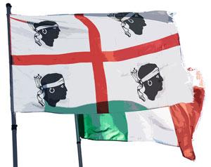 Sardinien-Flagge