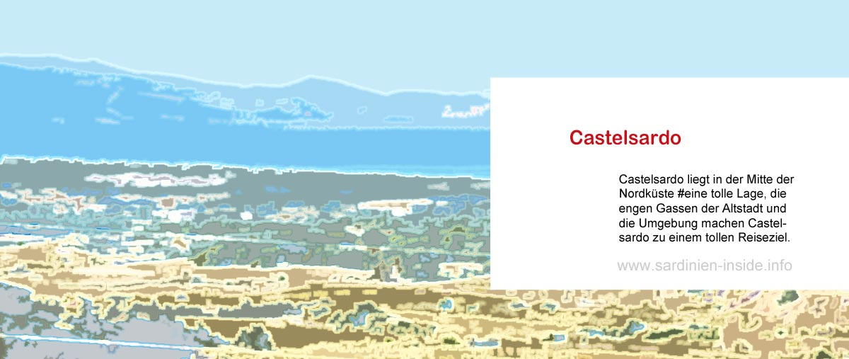 Castelsardo-Sardinien