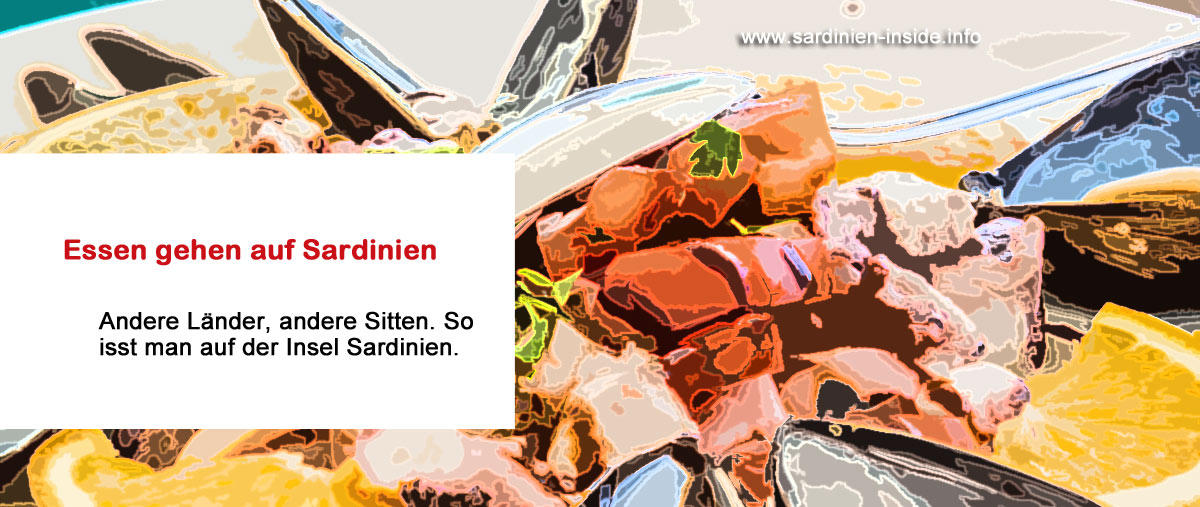 Sardinien-Essen-gehen
