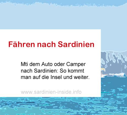 Fähre-Sardinien