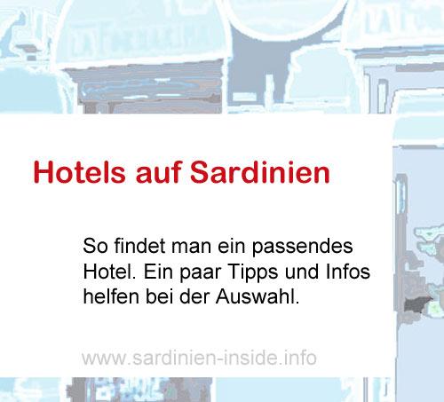 Hotels-Sardinien