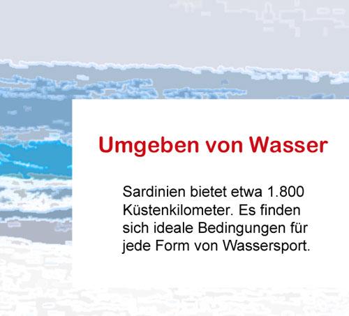 Wassersport-Sardinien
