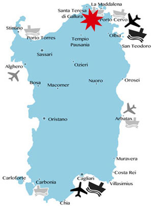 Lage-Karte-Arzachena