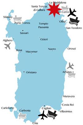 Lage-Karte-Baia-Sardinia