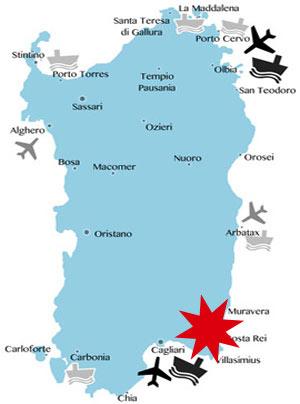 Lage-Karte-Costa-Rei-Villasimius