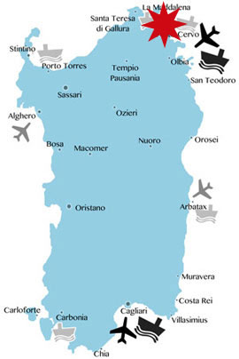 Costa-Smeralda-Karte