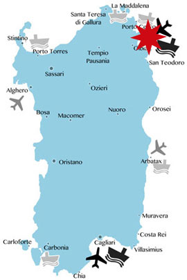 Lage-Karte-golfo-Aranci