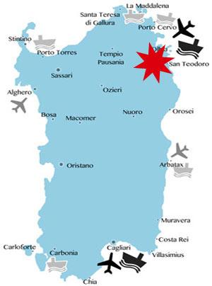 Lage-Karte-Sardinien-San-Teodoro