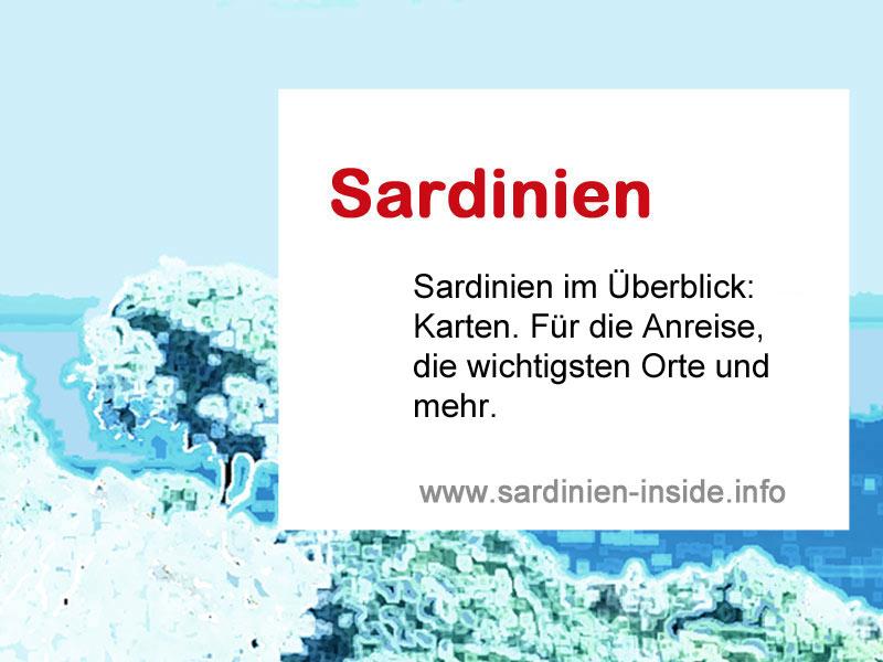 Karte Sardinien Süden.Karte Sardinien Www Sardinien Inside Info
