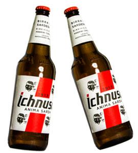 Bier-Ichnusa-Flasche